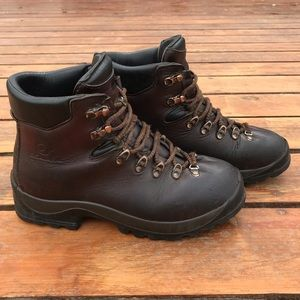 Scarpa SL M3 Boots 42 8.5 Brown Leather Hiking
